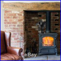 2X(Heating Fan of New Model Chimney Fan, Fan for Wood Burning Stove C9P4)