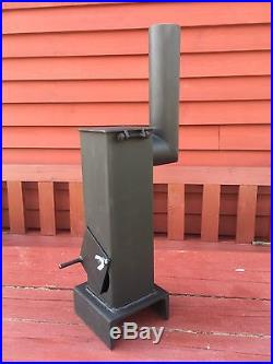 30x Diy Miniature Wood Burner Stove Heater Garage Shed Summerhouse