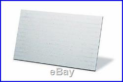 4 X FIRE RESISTANT INSULATING BOARDS CALCIUM SILICATE 1000C 610x500x40mm (70644)
