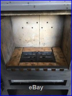 Aduro Asgard 4 Classic Steel Wood Burning Stove Top Flue Exit #54