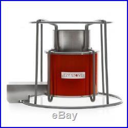Affirm Global IT117469BR Wood Burning EZY Stove, Red