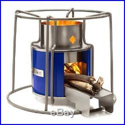 Affirm Global Wood Burning EZY Stove, Blue