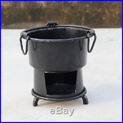 Antique Iron Wood Coal Burning Kitchen Use Stove Sigri Fire Pit Portable