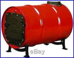 Barrel Stove Kit US Stove Cast Iron Wood Burning Drum Garage Shop Cabin NEW