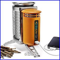 Biolite Camp Stove Cooker Wood Burning Usb Phone Charger