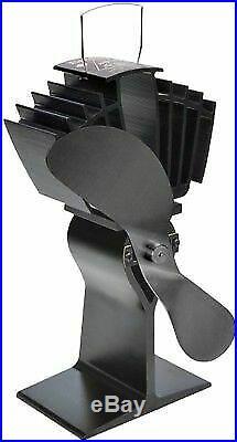 Black Eco-fan For A Wood Burning Stove Airmax 812 Caframo