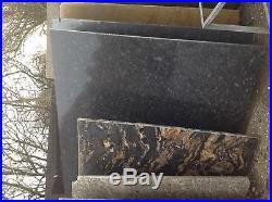 Brazilian Slate fire hearth wood burning stove 900 x 900 cut and polished 25mm
