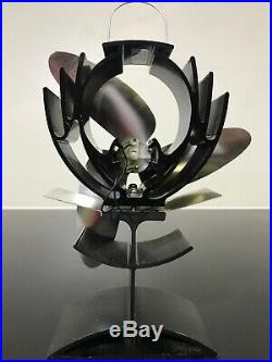 Caframo EcoFan Airplus Heat Powered Wood Burning Stove Fan Used