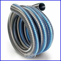 Chimney Flexible Flue Liner 125mm / 2m Multi Fuel Stainless Steel Pipe Stoves