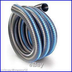 Chimney Flexible Flue Liner 150mm / 6 4m 316L Grade Stainless Steel Pipe Stoves