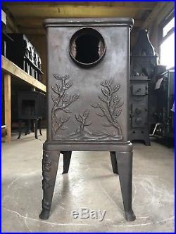 Dovre 600 Classic Cast Iron Wood Burning Stove Black Finish Rear Flue Exit #47