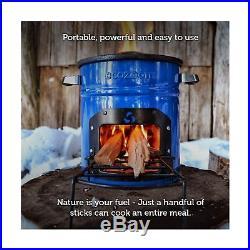 EcoZoom Dura Camping Stove Portable Wood Burning Camp Stove for Backpacking