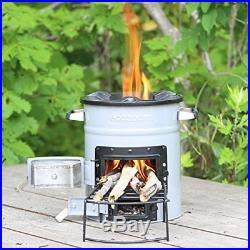 Ecozoom barbecue stove-fire stand Versa Ekozumu Bartha wood-burning stove. P/O