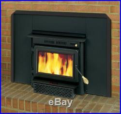 England's Stove Works 60,000 BTU 1500 sq. Ft. Wood Burning Fireplace Insert