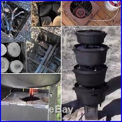 Firebox Bushcraft Camp Stove Kit Wood Burning/Multi Fuel Collapsible/Fold