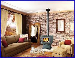 Flame XTD 1.1 Small Steel Wood Burning Stove 55,000 BTU's Free Standing FL041