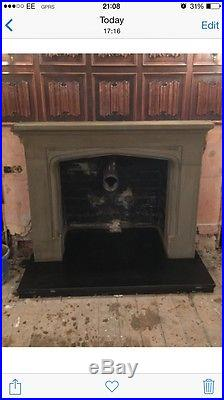 Granite fire Hearth 30mm T shape black star wood burning stove slate limestone