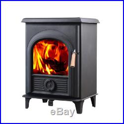 HiFlame 800 Sq. Feet Shetland HF905U Freestanding Small Wood Burning Stove
