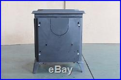 HiFlame Pony HF517U Freestanding Small EPA Cast Iron Wood Burning Stove, Black