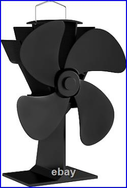 Home-Complete Stove Fan- Heat Powered Fan For Wood Burning Stoves Or Fireplaces