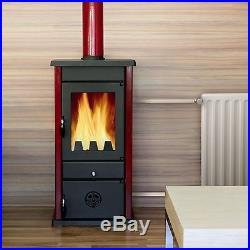 - JS 16kW Woodburning Stove with Back Boiler Free Delivery to UK Mainland