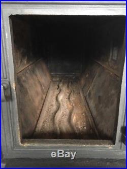 Jotul 118 Classic Cast Iron Wood Burning Stove Black Finish Rear Flue Exit #21