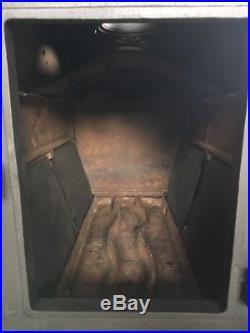 Jotul 1940 Classic Cast Iron Wood Burning Stove Black Finish Top Flue Exit #43