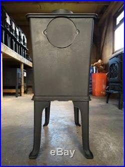 Jotul 602 Classic Cast Iron Wood Burning Stove Black Finish Top Flue Exit #14