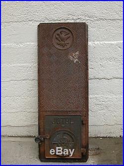 Jotul, Jøtul 606, Black Front Casting or Plate plus door