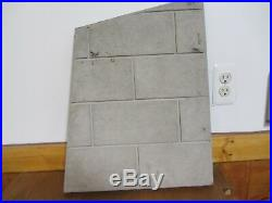 Lennox Hearth Wood Stove Gas Burning Fireplace Right Side Refractory 24612