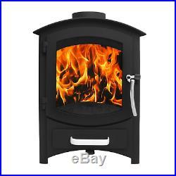 Lincsfire 6.22KW Modern Multifuel Woodburning Stove
