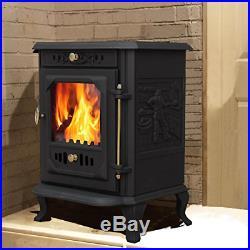 Lincsfire Waddington JA001 Luxury 7.5KW Multifuel Woodburning Stove Wood Burner
