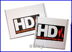 New Charnwood Replacement HD Woodburning/Multifuel Stove Glass All Models