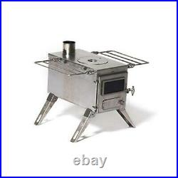 Nomad Medium Tent Stove Tiny Portable Wood Burning Stove for Tents