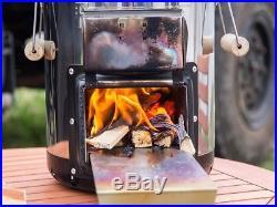 Petromax Rocket Stove Portable Wood Burning Camping Stove