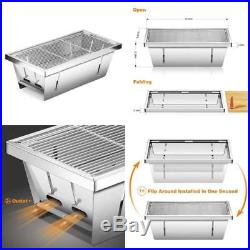 Portable Wood Stove Backpacking Stainless Steel Wood Burning Stove With Nylon