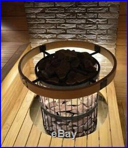 Sauna Woodburning Stove Harvia Legend 240 for rooms 613 m3