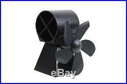 SmartFan Heat Powered Stove Fan 2016 Model -Damaged Packaging, No Warranty