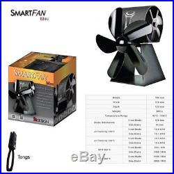 Smartfan Sfm Mini Fan With Twin Fan For Self-Cooling For Wood Burning Stoves