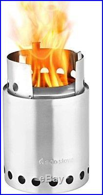 Solo Stove Titan 2-4 Person Lightweight Wood Burning Stove. Compact Camp Kit