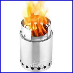 Solo Titan Camp stove 2-4 Person Lightweight Wood Burning Stove Camping