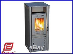 Stoker Grant 7 Wood Burning Stove Space Heater Fireplace Ash-pan Cooking Top