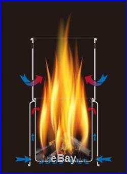 TOAKS Titanium Backpacking Wood Burning Stove (STV-11)