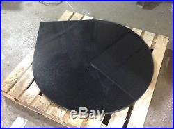 Teardrop black polished or star galaxy granite fire hearth wood burning stove