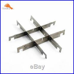 Titanium Stove Wood Burning Stove with 4 Cross Bars TOAKS Stove STV-11