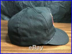 Vintage BUCK STOVE Hat 1980's Snapback Cap Wood Burning Made In USA VGC