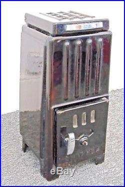 Vintage Poele Chappee 8093 Log Wood Burner Stove Art Deco Enamel Used French
