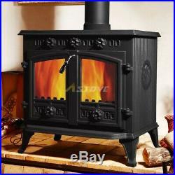 Wood Burning/Multi-fuel Stove, Sunrain JA006 12Kw