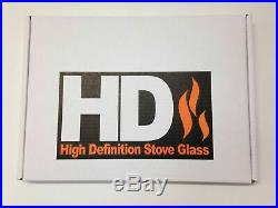 Woodburning GS275265b Country KIln Mk 5 Replacement HD Stove Glass 275 x 265